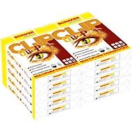 Kopierpapier Schäfer Shop CLIP OutPut, DIN A4, 80 g/m², reinweiß, 1 Karton = 10 x 500 Blatt