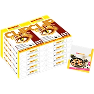 Kopierpapier Schäfer Shop CLIP OutPut, DIN A4, 80 g/m², reinweiß, 1 Karton = 20 x 500 Blatt + 10 Euro mymüsli-Gutschein GRATIS
