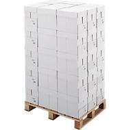 Kopierpapier Standard, DIN A4, 80 g/m², weiß, 1 Palette = 200 x 500 Blatt