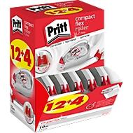 Korrekturroller Pritt Compact Flex, m. Push-&-Pull-Funktion, L 10 m x B 4,2 mm, 16er-Multipack