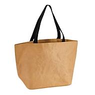 Kraftpapier-Shopper, Natur, Standard, Auswahl Werbeanbringung optional