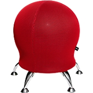 Kruk Sitness 5, met ingebouwde gymnastiekbal, belastbaar tot 110 kg, rood