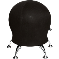 Kruk Sitness 5, met ingebouwde gymnastiekbal, belastbaar tot 110 kg, zwart