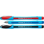 Kugelschreiber SCHNEIDER Slider Memo, farbsortiert, 3er-Set