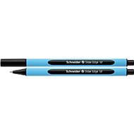 Kugelschreiber Slider Edge, M, schwarz, 10 Stück