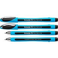 Kugelschreiber Slider Memo, schwarz, 10 Stück