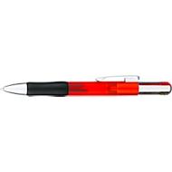 Kugelschreiber Vierfarbkugelschreiber Multifour, 4 Schreibfarben, rot