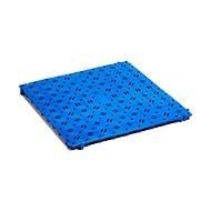 Kunststof vloerrooster, blauw