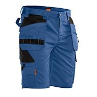 Kurze Hose Jobman 2722 PRACTICAL, mit Holstertaschen, UV-Schutz, blau I schwarz, Gr. 48
