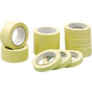 Kwaliteits afdektape van papier, B 19 mm, 16 rollen