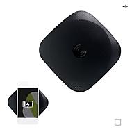 Ladestation Wireless Charger Pad für Qi-fähige Geräte, in schwarz