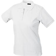 Ladies's Poloshirt, weiß Gr. M