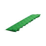 Längsrampe für Clippy Bodenrost, grün