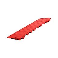 Längsrampe für Clippy Bodenrost, rot