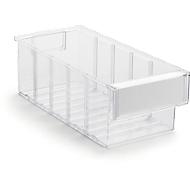 Lagerschublade Serie 3015, transparent, L 300 x B 132 x H 100 mm, 2,5 L