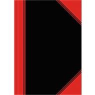 Landré Carnets China, A5, quadrillé (5x5), noir/rouge, 6 pièces
