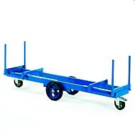 Langmateriaalwagen, 2000 x 600 mm, draagvermogen 2000 kg