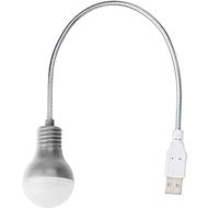 Laptop-Lampe, silber
