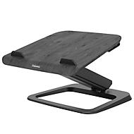 Laptop-Ständer Fellowes Hana™, bis 17 Zoll und 4,5 kg, winkel- und höhenverstellbar, 90° drehbar, USB-Anschlüsse, schwarz