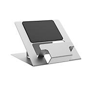 Laptop Ständer Fellowes Hylyft™, für Laptops bis 18″ & bis 4 kg, 6-stufig manuell höhenverstellbar, zusammenklappbar, ergonomisch, Aluminium, silber