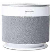 Lautsprecher Swisstone DOTBOX 1, Echo Dot/Bluetooth, 360° Surround, 15W RMS, IPX4, weiß