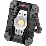 LED Baustrahler Brennenstuhl ML CA110M, 10 W, 1000 lm, 2 Helligkeitsstufen, 4400 mAh Akku, USB, IP54