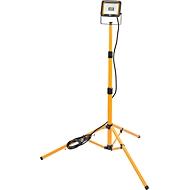 LED Baustrahler mit Stativ Brennenstuhl JARO 2000T, für Innen & Außen, 20 W, 1870 lm, höhenverstell- & schwenkbar, Kabel, IP65