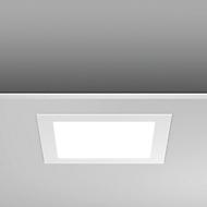 Led-inbouw-/aanbouwlamp Toledo Flat, 225 x 225 x 23 mm, 18/1550 watt/lumen