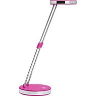 LED Maulpuck bureaulamp, 6500 Kelvin, uitschuifbaar, met voet, roze