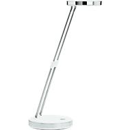 LED Maulpuck bureaulamp, 6500 Kelvin, uitschuifbaar, met voet, wit
