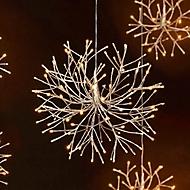 LED-Objekt Schneeflocke, silberfarben, klein