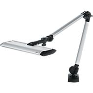 LED-staafverlichting Waldmann TANEO, vermogen 24 W, 1300 lm, lichtkleur 5000 K, aluminiumkleurig
