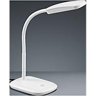 LED-Tischleuchte Boa, mit Touchdimmer, höhenverstellbar, weiß