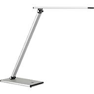 LED-Tischleuchte TERRA, 5 W, 500 lm, 4 Lichtstärken, dreh- und neigbar, faltbar, grau
