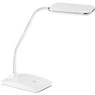 Ledbureaulamp Fischer, wit