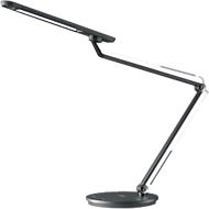 Ledbureaulamp Smart, 2-in-1, USB-laadfunctie, draadloos opladen, antraciet