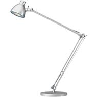 Ledbureaulamp Valencia, zilver
