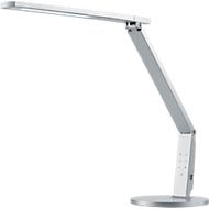 Ledbureaulamp Vario, 741 lumen, dimbaar, levensduur 40.000 uur, zilverkleurig