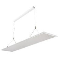 Ledhanglamp FRISCH-Licht, lichtkleur neutraal wit, 53-68 W, 5000-6400 lm, b 1200 x d 300 mm
