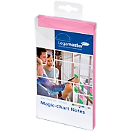 Legamaster Magic-Chart Notes, 7-159 Serie, 100 x 200 mm, 100 Stück, rosa