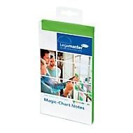 Legamaster Magic-Chart Notes, série 7-159, 100 x 200 mm, 100 pièces, vert