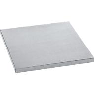 Legbord voor materiaalkast MS 2509, 452 x 458 mm