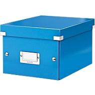LEITZ® Ablage- und Transportbox Serie Click + Store, klein, für DIN A5, blau