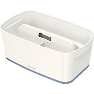 Leitz Ablagebox MyBox, DIN A5, für Utensilien, weiß/grau