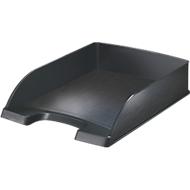 LEITZ® Ablagekorb Style, DIN A4, Kunststoff, satin schwarz