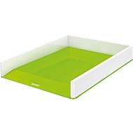 LEITZ® Ablagekorb WOW Duo Color, DIN A4, weiß/grün