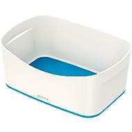 Leitz Ablageschale MyBox, DIN A5, aus Kunststoff, für Utensilien, weiß/blau