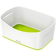 Leitz Ablageschale MyBox, DIN A5, aus Kunststoff, für Utensilien, weiß/grün