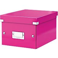 LEITZ® archief- en transportbox serie Click + Store, klein, voor A5, roze