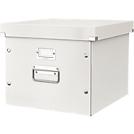 LEITZ® archief- en transportbox voor hangmappensysteem serie Click + Store, wit